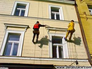 Mytí fasád Praha