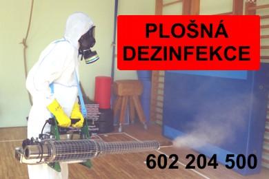 Plošná dezinfekce